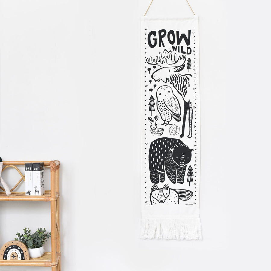 Canvas Growth Chart - Nordic