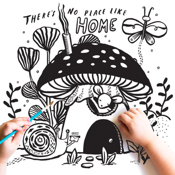 'No Place Like Home' Coloring Page