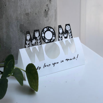 MOM—WOW! - Mother's Day Card