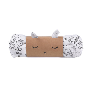 Organic Muslin Swaddle - Bunnies - Wee Gallery | Smart Art for Growing Minds | Modern Gifts & Decor