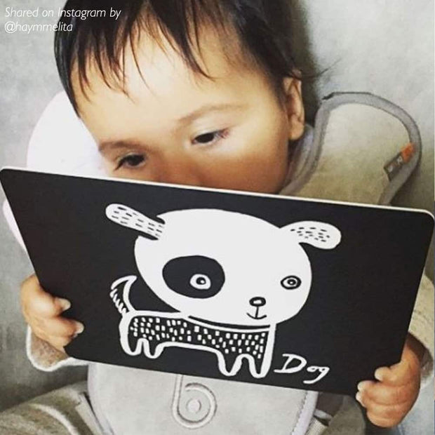 Art Cards for Baby - Black and White Collection 1