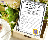 Friends TV Show Bridal Shower game - Advice for the bride to be