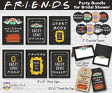 FRIENDS TV Party Bundle - For Bridal Shower