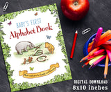 Baby's First ABC Alphabet Book | 8x10 inches Size Activity Book | Classic Winnie The Pooh Themed