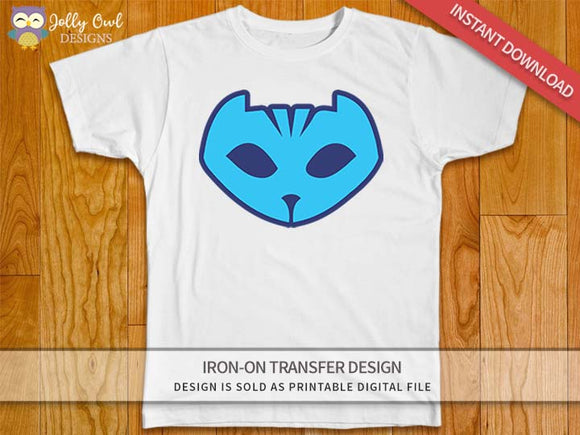 PJ MASKS CATBOY Logo Iron On Transfer Design