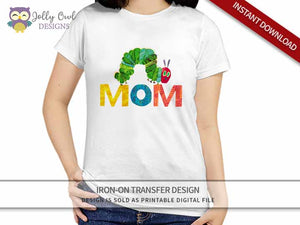 The Very Hungry Caterpillar Iron On Transfer Design For MOM
