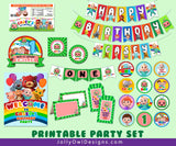 Cocomelon Birthday Party Decoration Package - Personalized Digital Kit