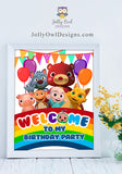 Cocomelon Birthday Party Welcome Sign - Digital File