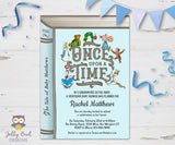 Storybook Themed Baby Shower Invitation - One Upon A Time