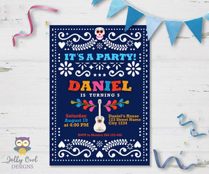 COCO Birthday Party Invitation