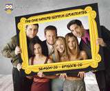 FRIENDS TV Show Graduation Party Photo Booth Frame