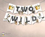Where The Wild Things Are Printable Banner - Two Wild