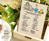 Story Book Themed Baby Shower Games Bundle Set