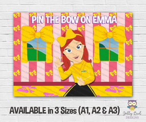 The Wiggles Themed Party - Pin The Bow