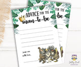 Where The Wild Things Are Themed Baby Shower Games Bundle Set