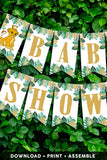 The Lion King Baby Shower Banner Buntings