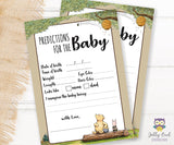 Winnie The Pooh Baby Shower Games Bundle Set