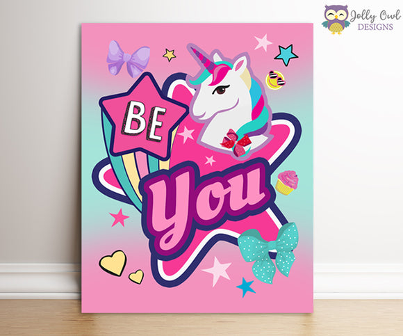 Jojo Siwa Party Signs - Be You