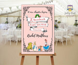 Storybook Party Welcome Sign