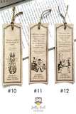 Storybook Book Themed Bookmark from Classic Children's Book - Digital Download