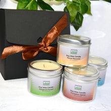 Load image into Gallery viewer, SOY WAX CANDLE gift set