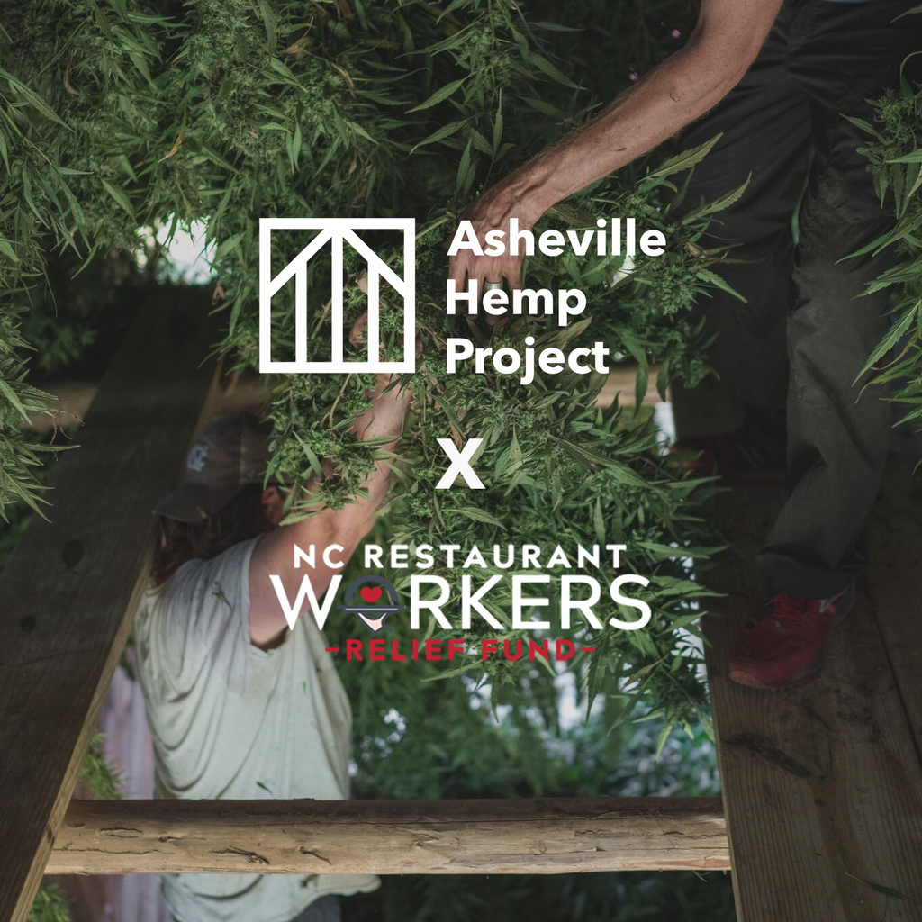 Asheville Hemp Project North Carolina Restaurant Workers Relief Fund