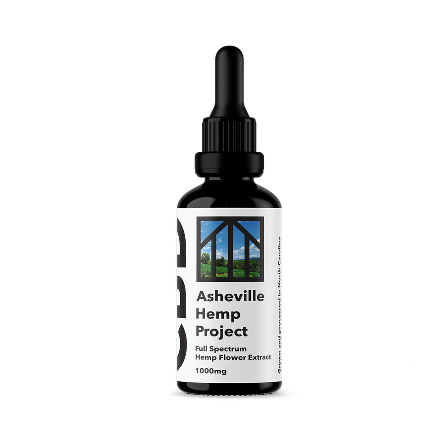 Full Spectrum CBD Extract - Asheville Hemp Project
