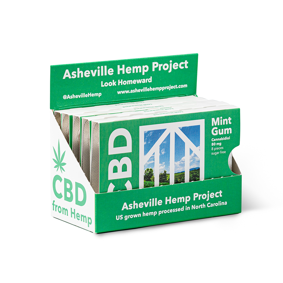 CBD Chewing Gum - Asheville Hemp Project