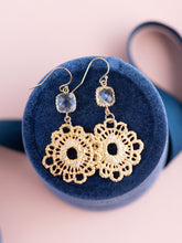 Load image into Gallery viewer, Gold Bohemian Dangle Earrings