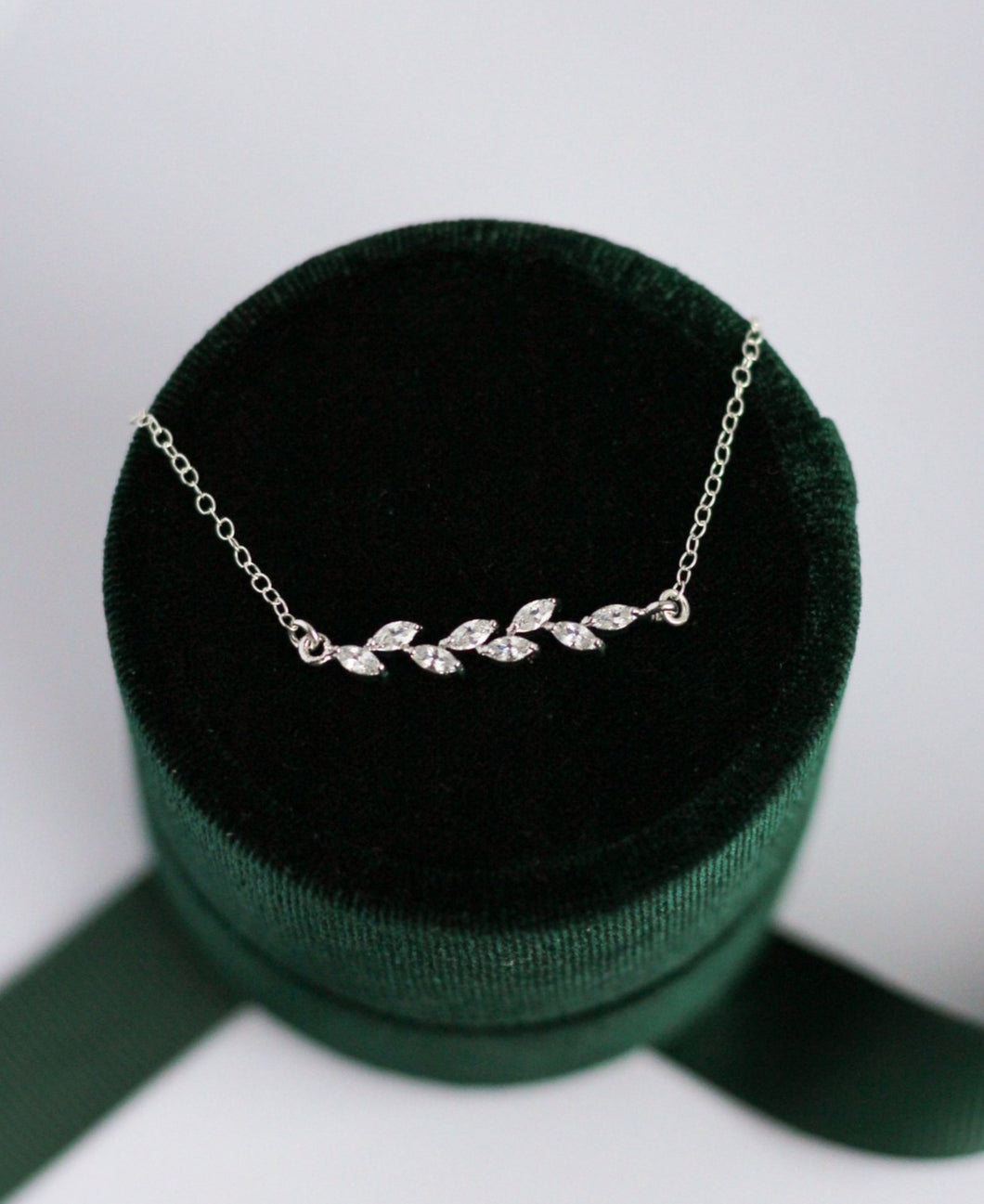 Silver Vine Necklace
