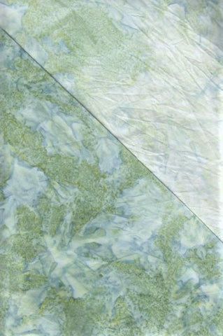BA OMBRE  555 Mid Green to Light Green Graduation[.25 cm strip across Fabric per unit]