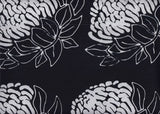 BAALE2 850 Waratah Black and White .38 cm Repeat  Aussie Landscape Limited Edition