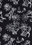 BAALE2 853 Flannel Flower Black and White Aussie Landscape Limited Edition
