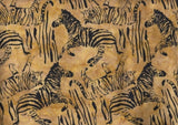 SC 027 CACB 523 Africa Tan Animal Scatter Anthology Batiks