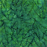 CAG 112 Green Green Stylized Leaves