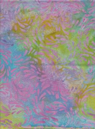 CAM 323  Multi Color Cherry Berry Sea Mist Abstract