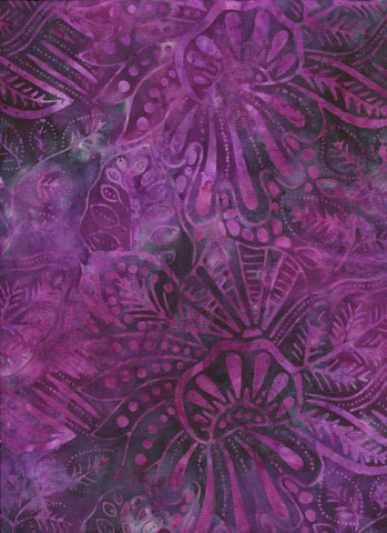 CAP 260 Dark Purple Hot Mauve Pink Abstract Leaf   NEW