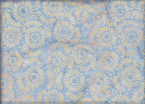 CAWBG 422 Tan Blue Gray Flower