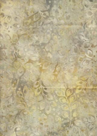 CACB 467 Cream Tan Leaf Print
