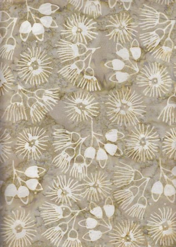 PREMIUM QUILT BACK BA 108 785 Tan Gold Seeds and Pods