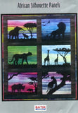 BA [Fabric Included]S-004 African Silhouette Giraffe Pattern