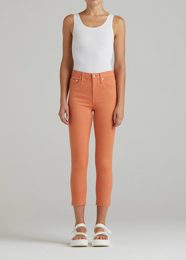 Bree Crop In Orange