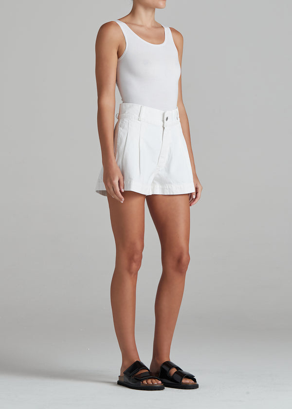 Isla Short in Eggshell