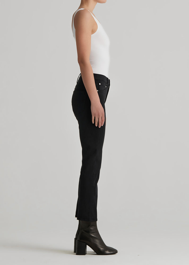 Elin Crop In Black