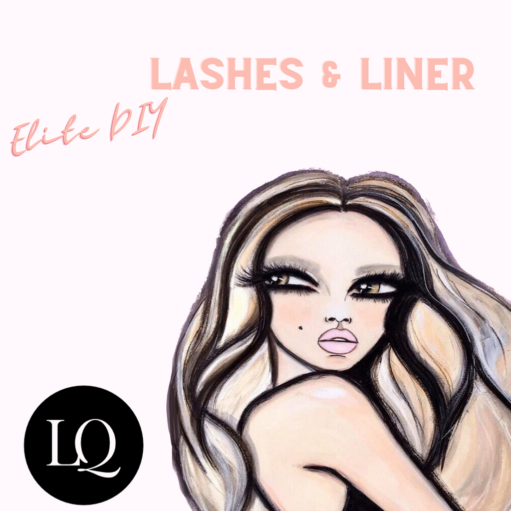 LQ Beauty has their own Quick Flick, LQ DIY Lashes