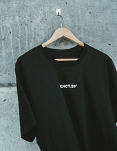Load image into Gallery viewer, Black KNCT.20 Tee