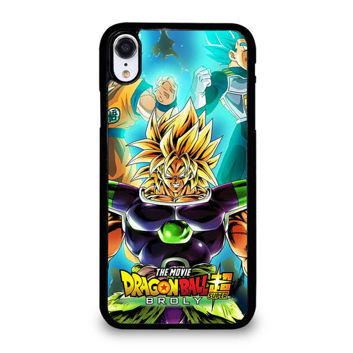 coque custodia cover fundas iphone 11 pro max 5 6 7 8 plus x xs xr se2020 C12252 BROLY DRAGON BALL 1 iPhone XR Case