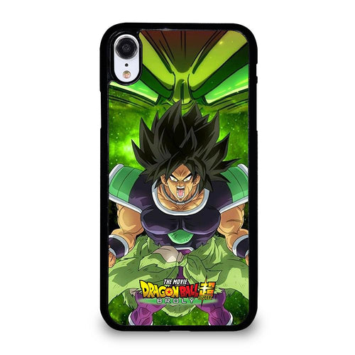 coque custodia cover fundas iphone 11 pro max 5 6 7 8 plus x xs xr se2020 C12254 BROLY DRAGON BALL 2 iPhone XR Case