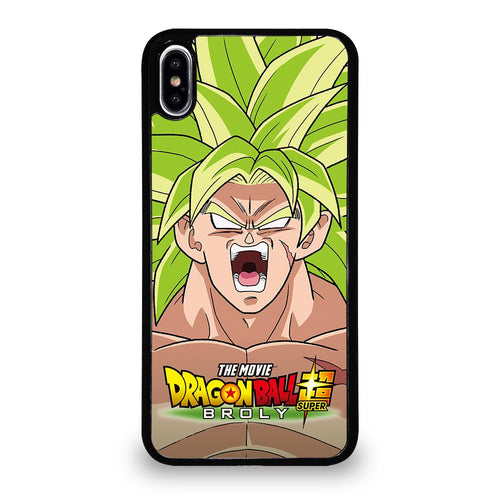 coque custodia cover fundas iphone 11 pro max 5 6 7 8 plus x xs xr se2020 C12259 BROLY DRAGON BALL iPhone XS Max Case