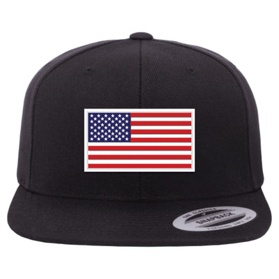LAC USA FLAG PATCH SNAPBACK HAT